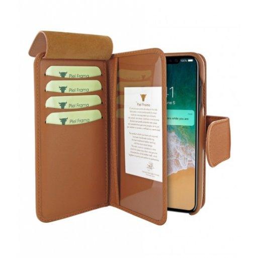 iPhone 11 Pro Max Leder Case Piel Frama iPhone 11 Pro Max Leder Case - WalletMagnum