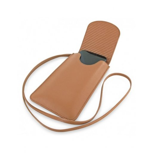iPhone 12 mini Leder Case Piel Frama iPhone 12 mini Leder Case - Universal Phone Bag