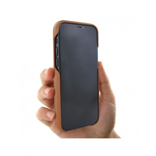 iPhone 12 Pro Leder Case Piel Frama iPhone 12 Pro Leder Case - LuxInlay