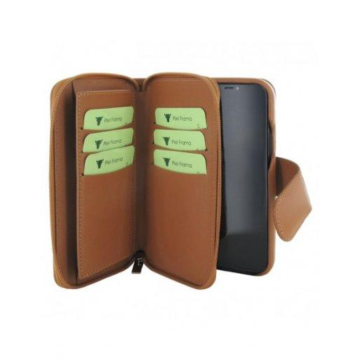iPhone 12 Pro Leder Case Piel Frama iPhone 12 Pro Leder Case - Zipper Wallet