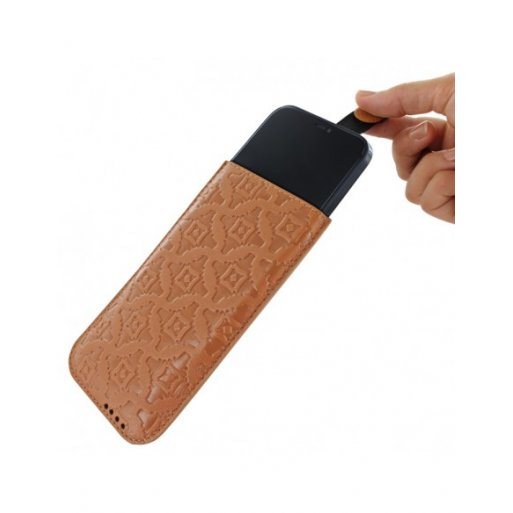iPhone 12 Pro Max Leder Case Piel Frama iPhone 12 Pro Max Leder Case - Pull