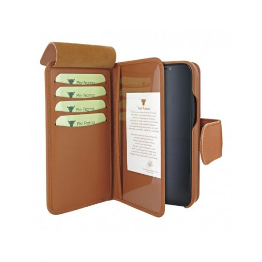 iPhone 12 Pro Max Leder Case Piel Frama iPhone 12 Pro Max Leder Case - WalletMagnum
