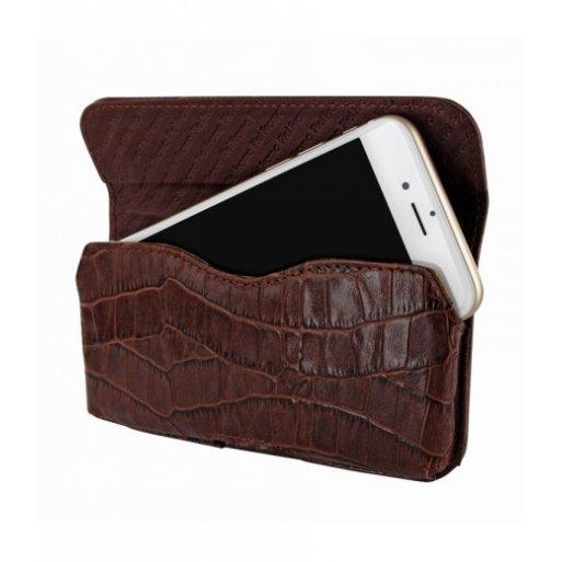 iPhone 7 Leder Case Piel Frama iPhone 7 Leder Case - Horizontal Pouch