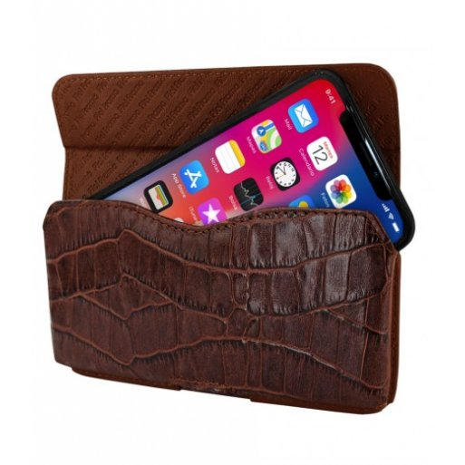 iPhone X Leder Case Piel Frama iPhone X Leder Case - Horizontal Pouch