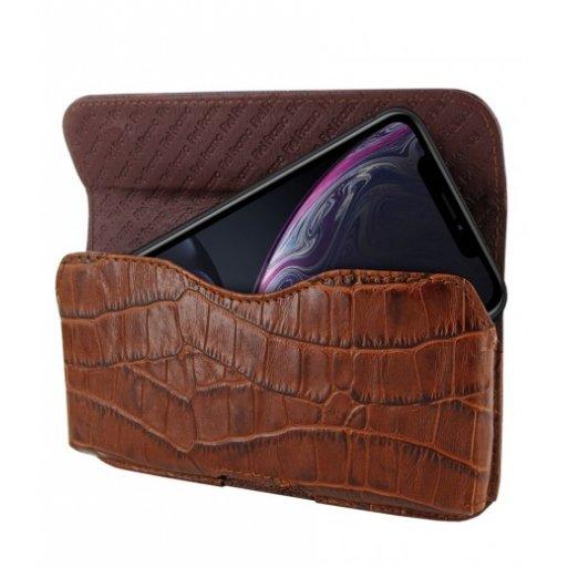 iPhone XR Leder Case Piel Frama iPhone XR Leder Case - Horizontal Pouch